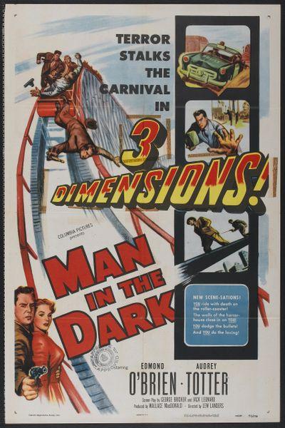 Man in the Dark (1953) DVD