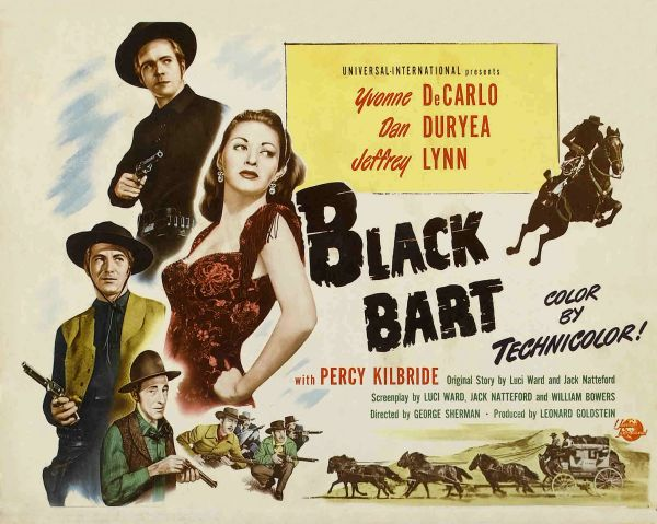 Black Bart (1948) DVD