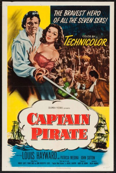Captain Pirate (1952) DVD