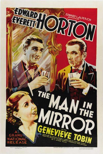 Man in the Mirror Edward Everett Horton, Genevieve Tobin, Ursula Jeans, DVD (1936)