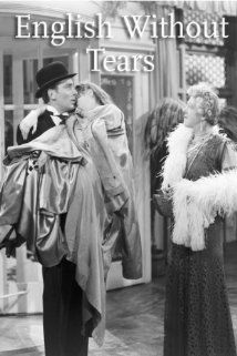 English Without Tears Michael Wilding, Penelope Ward, Lilli Palmer, Claude Dauphin (1944)