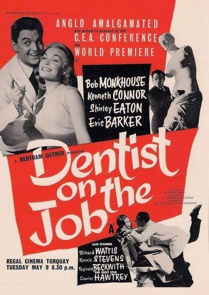 Dentist on the Job - Bob Monkhouse, Kenneth Connor, Shirley Eaton (1961)