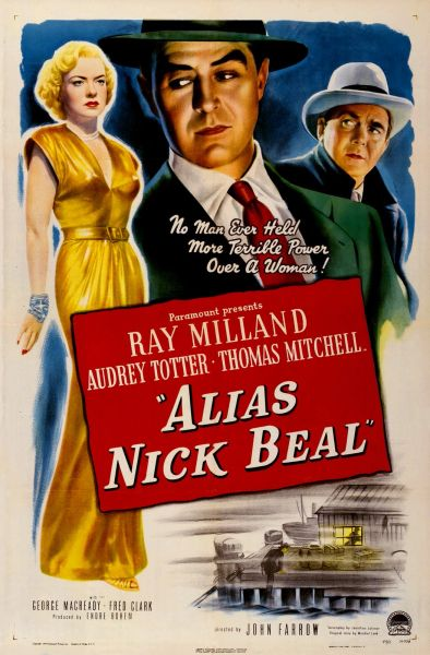 Alias Nick Beal (1949) Ray Milland, Thomas Mitchell, Audrey Totter