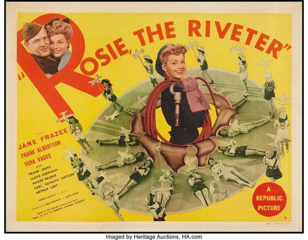 Rosie the Riviter (1944) – June Frazee, Jack Albertson, Barbara Jo Allen, Lloyd Corrigan