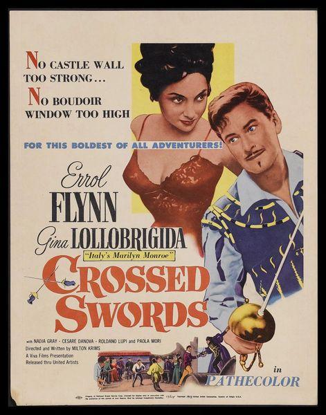Crossed Swords (1954) DVD