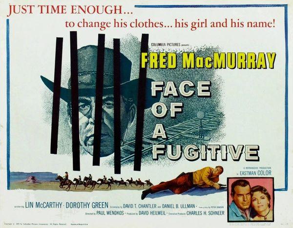 Face of a Fugitive (1959) DVD