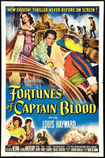 Fortunes of Captain Blood (1950) DVD