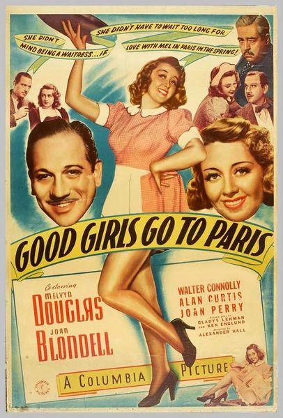 Good Girls Go to Paris (1939) DVD