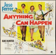Anything Can Happen Jose Ferrer, Kim Hunter (1952) DVD