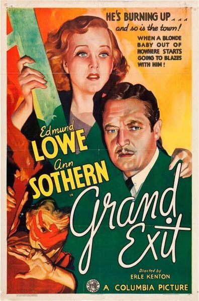 Grand Exit (1935) DVD