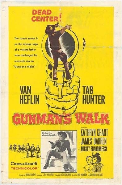 Gunman's Walk (1958) DVD