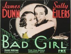 Bad Girl (1931) DVD