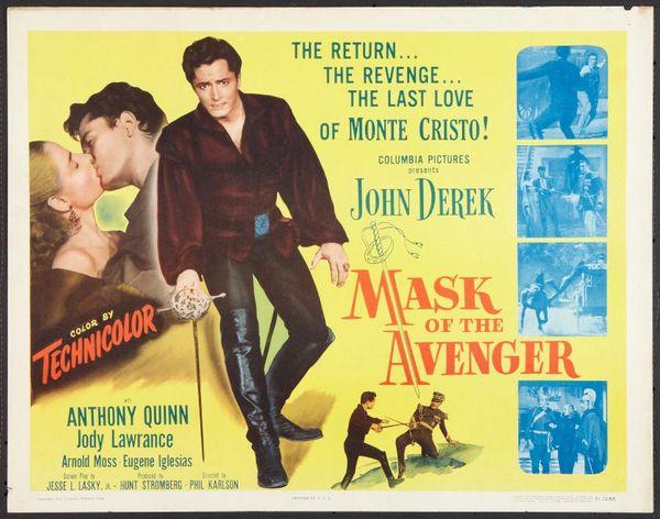 Mask of the Avenger (1951) DVD
