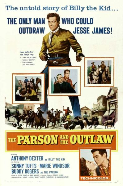 Parson and the Outlaw (1957) DVD