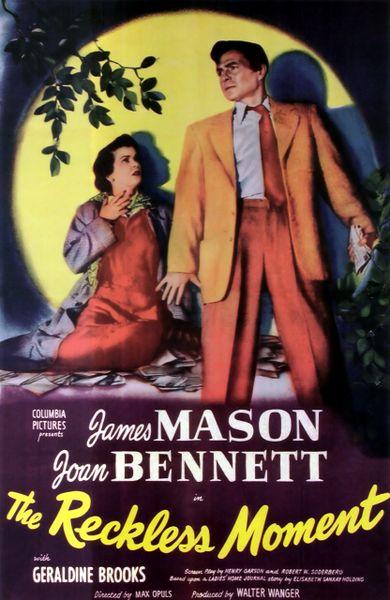 Reckless Moment (1949) DVD