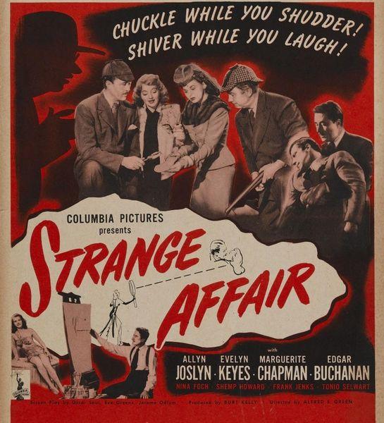Strange Affair (1944) DVD