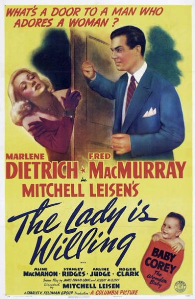 The Lady is Willing (1942) DVD