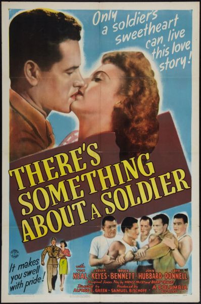 There's Something About a Soldier (1943) DVD
