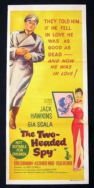 Two-Headed Spy (1958) DVD