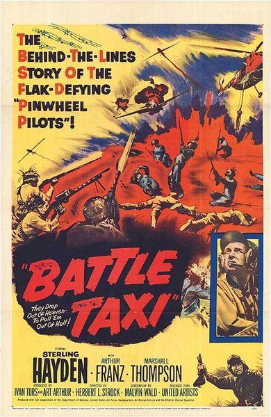 Battle Taxi (1955) DVD