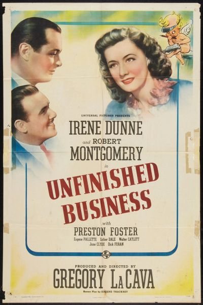 Unfinished Business (1941) DVD