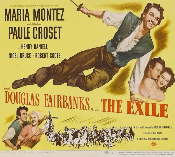 The Exile (1948) DVD