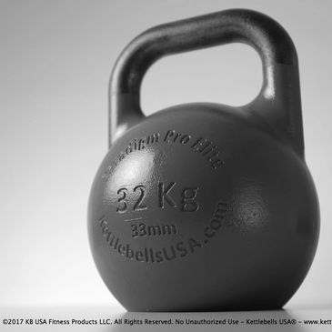 33mm handle kettlebell