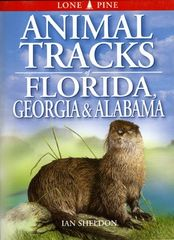 Book - Animal Tracks of Florida, Georgia & Alabama by Ian Sheldon