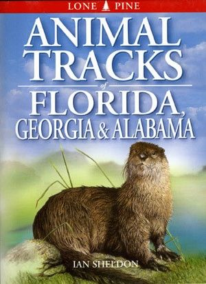 Book - Animal Tracks of Florida, Georgia & Alabama by Ian Sheldon