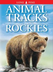 Book - Animal Tracks of the Rockies by Ian Sheldon