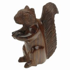Carving - Ironwood Squirrel - 3""