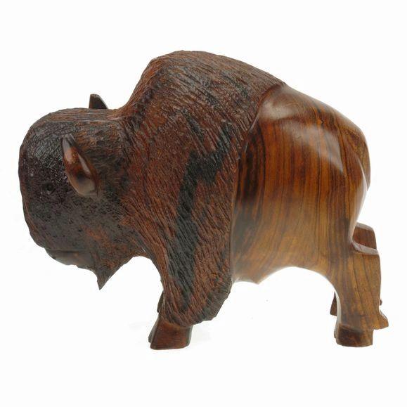 "Carving - Ironwood Bison - 5"""
