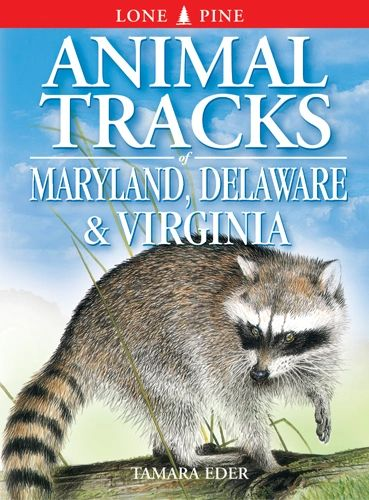Book - Animal Tracks of Maryland, Delaware and Virginia (including Washington, D.C.) by Tamara Eder