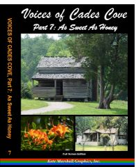 A DVD - Voices of Cades Cove, Part 7: As Sweet As Honey - NEW!