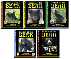 A DVD SET - Season of the Bear Set of 5 NOW ON SALE!