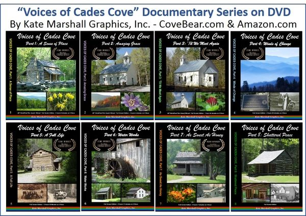 A DVD SET - NEW! Voices of Cades Cove Set of 8 NOW ON SALE!