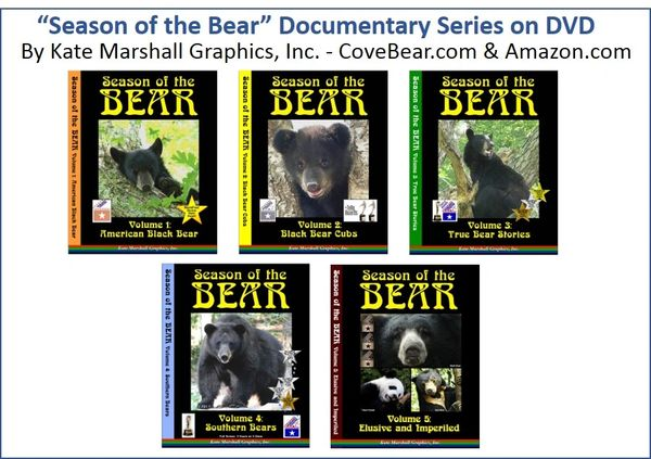 A DVD SET - NEW! Season of the Bear Set of 5 NOW ON SALE!