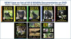 A DVD SET - NEW! Wildlife Documentaries Set of 8 ON SALE!