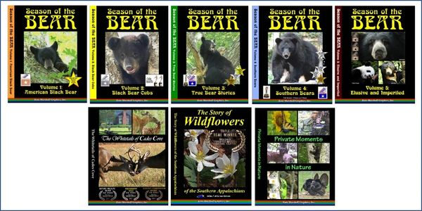 A DVD SET - 8 Wildlife Documentaries