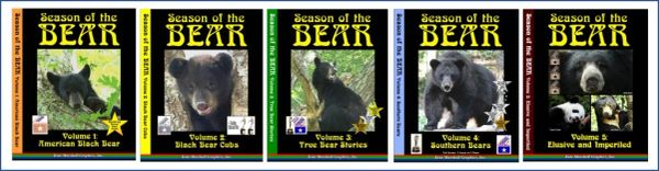 A DVD SET - 5 Season of the Bear Documentaries