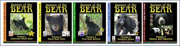 A DVD SET - 5 Season of the Bear Documentaries