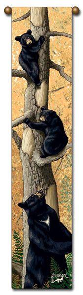 """Tapestry - """"Bears - Den Mother"""" - 8.5""""x40"""""""