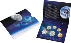 2019 Moon Landing Uncirculated Year Set