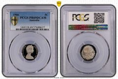 1966 Proof Five Cent PCGS PR69DCAM