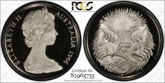 1966 Proof Five Cent PCGS PR67DCAM