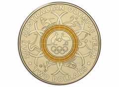 2016 Yellow Olympic Two Dollar