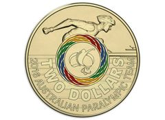 2016 Paralympics Two Dollar