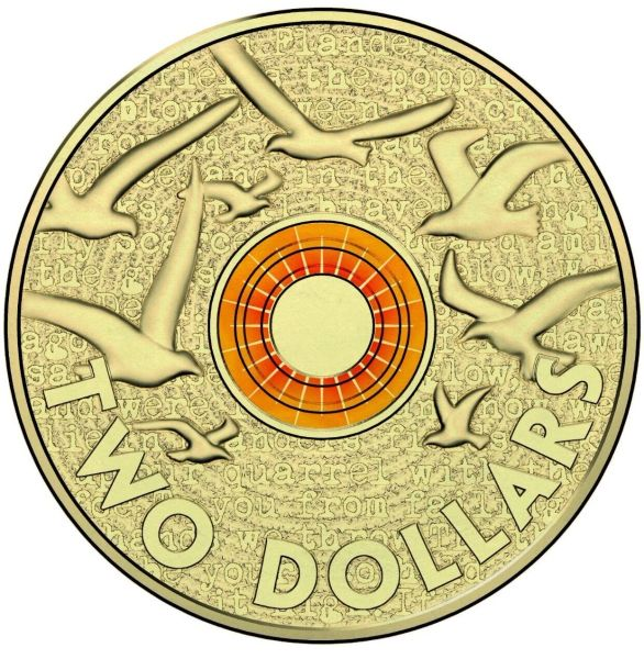 2015 Orange Remembrance Two Dollar UNC