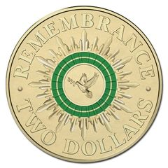 2014 Green Remembrance Two Dollar