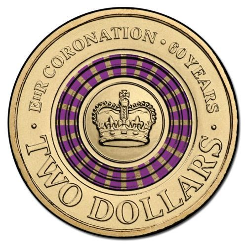 2013 Purple Coronation Two Dollar Coin